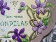 画像3: アンティーク すみれのパウダーボックスのラベル SUPERBA VIOLETTA-MONPELAS PARIS- (3)