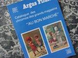 """ボンマルシェ クロモ カタログ CATALOGUE DES CHROMOS DES GRANDS MAGASINS """"AU BON MARCHE """" -ARGUS FILDIER-"""