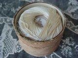アンティーク シルク糸巻き入り硝子の蓋の紙箱-GRANDS MAGASINS DU LOUVRE PARIS-