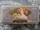 アンティーク 薔薇のソープボックス FRIMOUSSE D'OR-LORENZY-PALANCA PARIS-