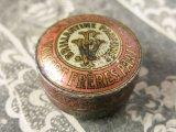 1900年代 アンティーク 薔薇のヘアーワックスとても小さなメタル缶 LA NIVOLEINE -VIBERTFRERES PARIS-