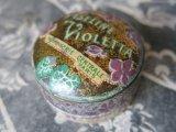 アンティーク 菫のワセリン缶 VASELINE VIOLETTA-PARFUMERIE CENTRALE PARIS-