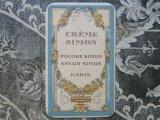 アンティーク 薔薇のガーランドのパフュームカード-CREME SIMON PARIS-