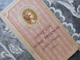 アンティーク 薔薇のパフュームカード ROSE TRIANON-GELLE FRERES-