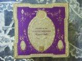 アンティーク 菫のパウダーボックス  POUDRE DE RIZ  VIOLETTE MERVEILLE -ROGER&GALLET PARIS-