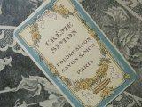 アンティーク 薔薇のガーランドのパフュームカード -CREME SIMON PARIS-