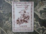 アンティーク 天使のパフュームカード SECRET D'ARYS-ARYS-