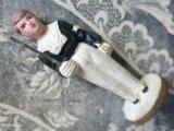 アンティーク コミュニオン 石膏 人形 少年