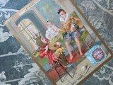 ★5周年セール対象外★アンティーク クロモ 『LU』ヘンリ2世のコスチュームの少年たち BISCUIT LU -LEFEVRE-UTILE-