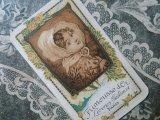 アンティーク 薔薇のパフュームカード FRIMOUSSE D'OR -LORENZY-PALANCA PARIS-