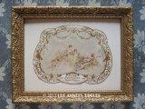 1897年 アンティーク 額付き パフュームラベル ESSENCE FIORENTA -ROGER&GALLET-