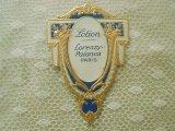アンティーク パフュームラベル 薔薇 LOTION-LORENZY PALANCA PARIS-