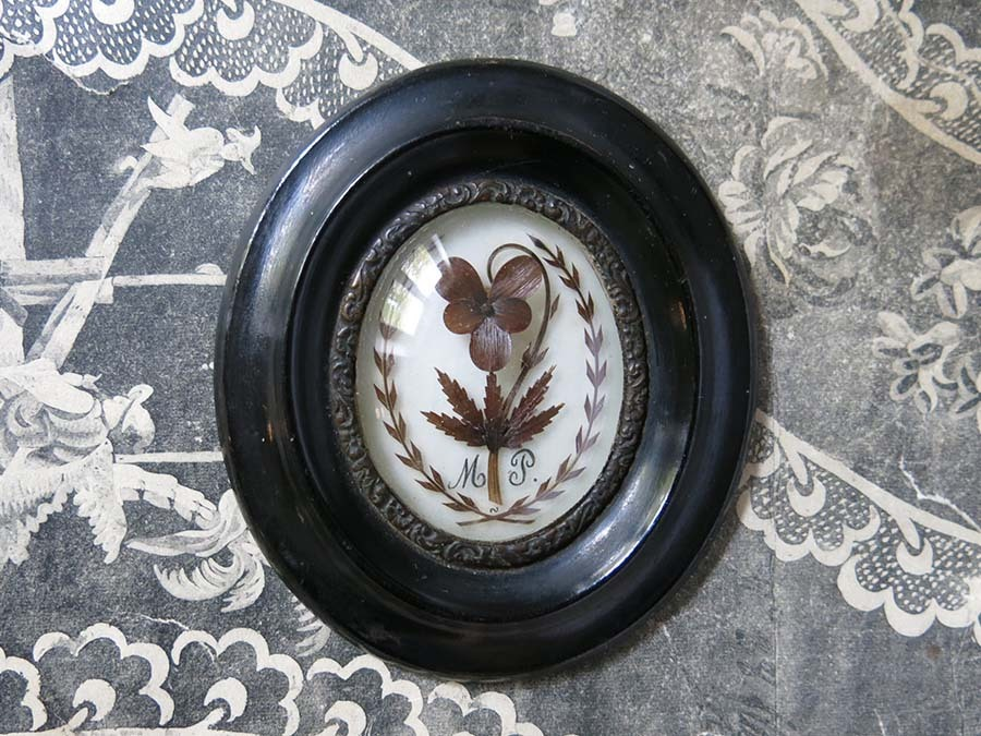 画像1: アンティーク 小さな 聖遺物入れ ルリケール M.P