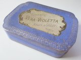 アンティーク 菫のパフュームボックス ESSENCE VERA-VIOLETTA-ROGER&GALLET-