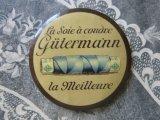 アンティーク 糸メーカー『GUTERMANN』のセルロイド製ミラー