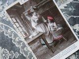 1909年 アンティーク ポストカード 赤ずきん LE PETIT CHAPERON ROUGE