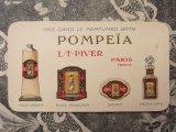 1925年 アンティーク パフュームカード POMPEIA-L.T.PIVER-