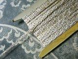 19世紀末 アンティーク 金糸の編み込み シルク製トリム 9m