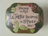 アンティーク クローバーのパウダーボックス POUDRE DE RIZ LE TREFLE INCARNAT -L.T.PIVER-