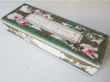 1900年代 アンティーク 薔薇のソープボックス  SAVON BALSAMIQUE ROSE MOUSSE -GELLE FRERES-