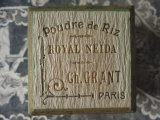 アンティーク パウダーボックス POUDRE DE RIZ ROYAL NEIDA -CH.GRANT PARIS-